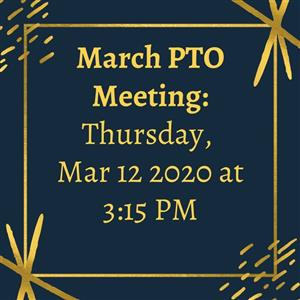 December PTO Meeting Information