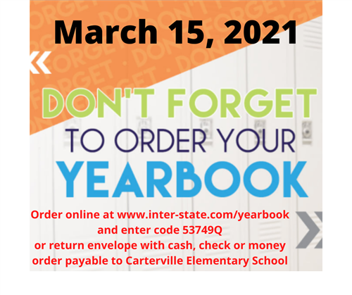 yearbook order graphic