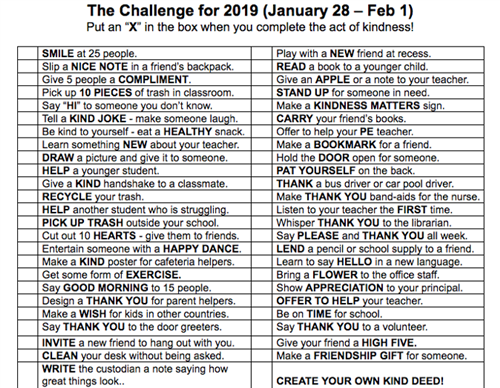 The Challenge for 2019