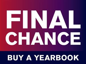 Last Chance to Order Yearbook