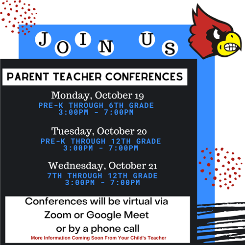 Fall Parent Teacher Conference Information